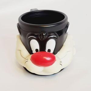 Vintage Sylvester 3D Collectable Mug (1992)